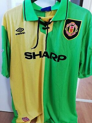Man Utd Retro 93/94 Shirt - 7 Cantona - Men's Large - Newton Heath
