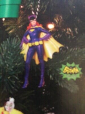 2019 Hallmark DC Comics Batman Classic TV Series Batgirl Ornament LE