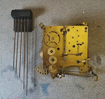 Clock Parts With Five Hammers Spares Only
