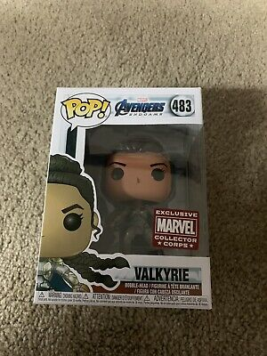 Funko Pop! Valkyrie Avengers Endgame Marvel Collector Corps 483