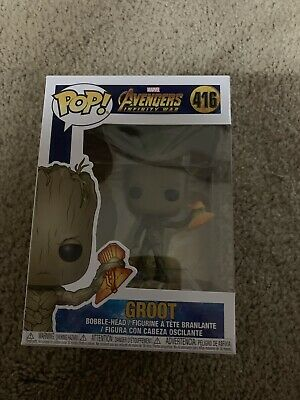 Groot W/stormbreaker Funko Pop #416 Avengers Infinity War Marvel New!!