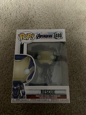 Funko Pop! Marvel MCU Avengers Endgame Rescue #480 Vinyl Figure NEw!!
