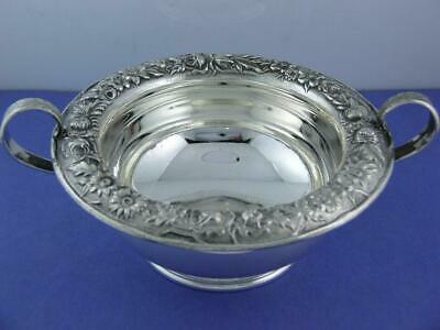 Sterling S KIRK & SON INC handled Dish / Bowl REPOUSSE no. 425F - no mono