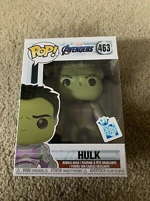 Funko POP! Marvel HULK #463 Avengers Endgame GameStop Insider Club Exclusive