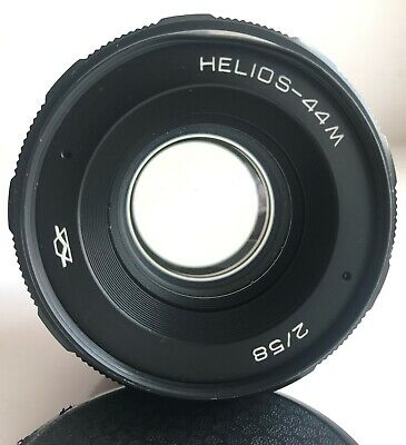 Helios-44M Soviet lens f2/58mm M42 mount Excellent condition 1984 year made