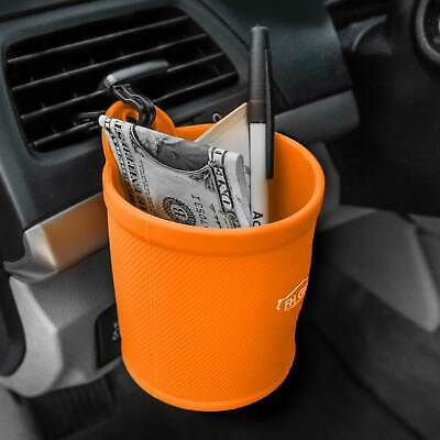 Silicone Travel Smartphone Holder iPhone Galaxy Coin Holder  Orange for Auto