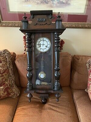 Antique Late 19th Century Wall Clock