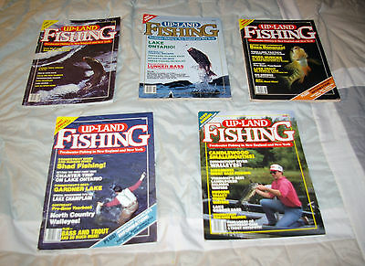 Lot of Up-Land Fishing Annuals - New York & New England FW Fishing - great!