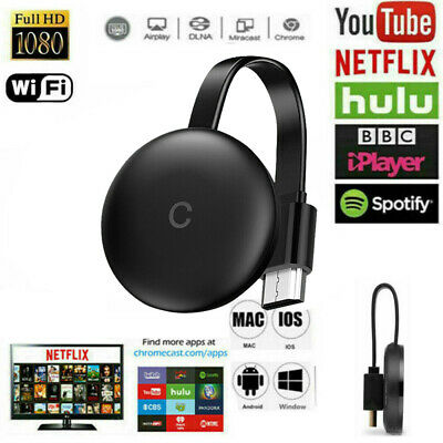 For Chromecast Ultra HD Receiver Wireless HDMI Streaming Player N5K2R