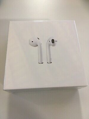 NEW SEALED Apple AirPods 2nd Generation with Charging Case - White