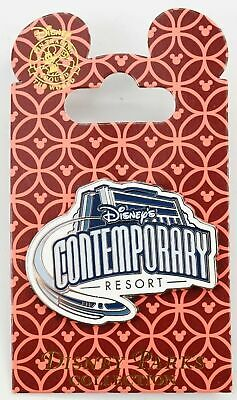 New Disney Parks Collection Contemporary Resort Monorail Logo Pin