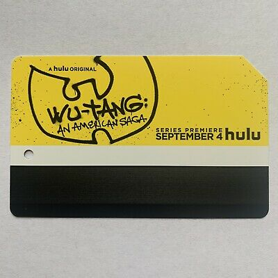 Hulu's Wu-tang Metrocard - MINT Cond. and Expired ***Buy 3 and get 1 Free***