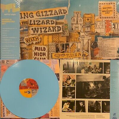 King Gizzard And The Lizard Wizard Sketches Of Brunswick BLUE Vinyl