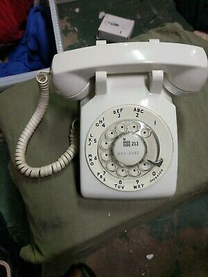 Vintage 70s BELL SYSTEM Western Electric 500DM Rotary Dial Telephone Phone