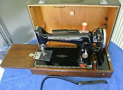 1949 Antique electric Singer 201K Sewing machine, Vintage sewing machine,