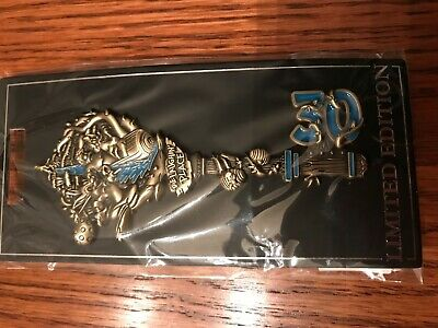 LIMITED EDITION Disney Attraction KEY pin:Splash Mtn 30yr 2019 D23Expo WDI MOG