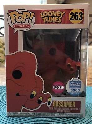 Funko Pop! Animation Looney Tunes Flocked Gossamer Funko Shop LE 3500