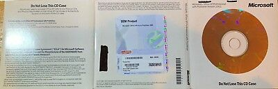 *Genuine* Microsoft Office XP Professional with Publisher 2002 - 6 LEFT