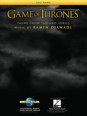 Game of Thrones (Theme from the HBO series) Easy Piano Sheet Music