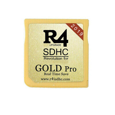 R4 Gold Pro SDHC For DS Cartridge
