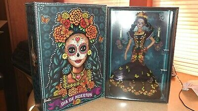 Barbie day of the dead DIA DE LOS MUERTOS. IN STOCK READY TO SHIP.