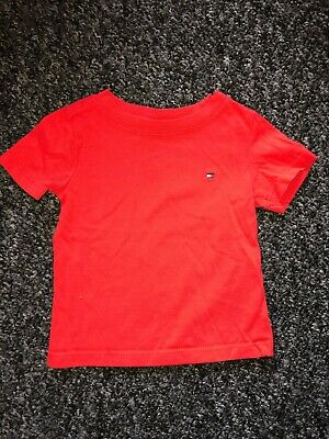 Tommy Hilifger Red 6-9 months T-Shirt