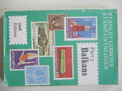 Stanley Gibbons  Balkans Stamp Catalogue 2nd edition