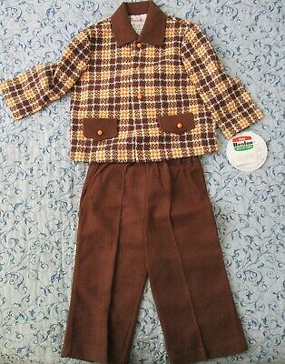 2 pce Childs Outfit Coat & Pants Size 1 NWT Unworn