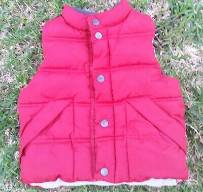 GAP toddler puffed Vest Size 2
