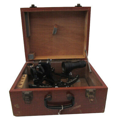 Marine Sextant GEHNA - No. 891884 - SHIP'S 100% ORIGINAL (363)