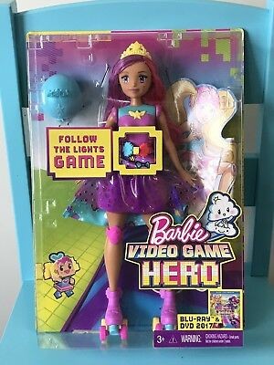 Barbie Video Game Hero Game Princess - BNIB