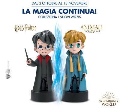 Esselunga WIZZIS 2019 Harry Potter - Completa la raccolta - Spedizione low cost