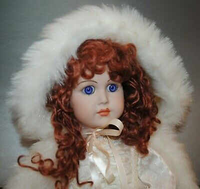 """Antique French Jumeau Reproduction Doll 21.5"""""""