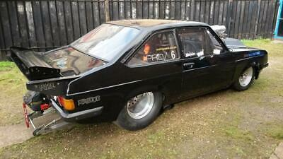 Genuine ford Escort mk2 rs2000 rs9000 drag hot rod show race car very fast ,mk1