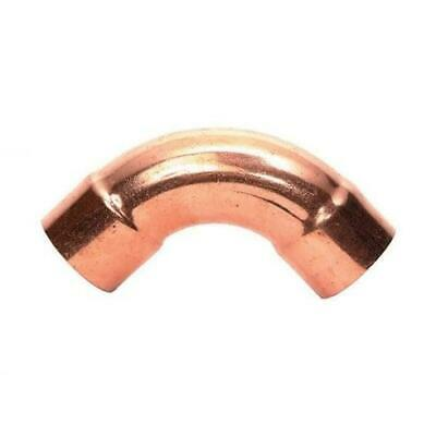 Refrigeration Aircon copper Fitting 90 degree Elbow Long HVACR