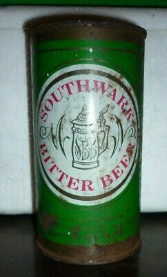 Collectable beer cans - Southwark Bitter Ale 13 1/3 Flattop beer can