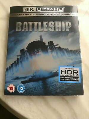 Battleship Region B - 4K Ultra HD & Blu-Ray With Slip Cover.new and sealed