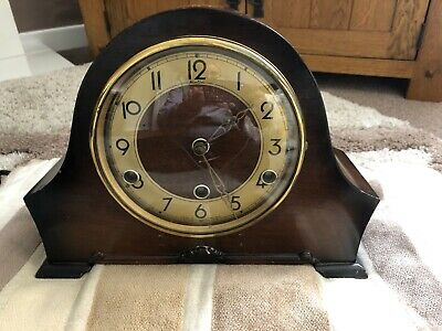 Vintage Bentima Perivale Westminster Chime Mantel clock