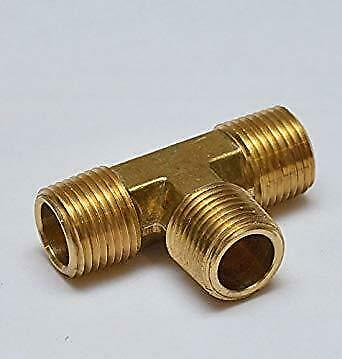 Brass Tee equal Flare Union Refrigeration Aircon All Sizes HVACR