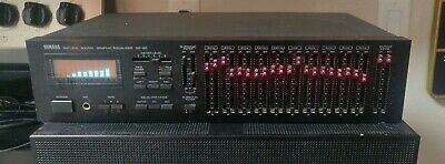 YAMAHA Natural Sound Graphic Equalizer GE-60 with Spectrum Analyzer Manual WORKS