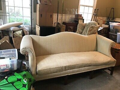 Silk Chinese Chippendale Sofa  by Hickory USED $2500 Pick Up Duluth Georgia