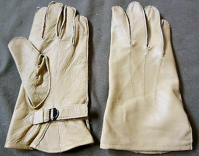 Wwii Us Army Airborne Paratrooper Dday Leather Jump Gloves-2Xlarge