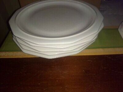 PFALTZGRAFF WHITE HERITAGE 5 DINNER PLATES Made in USA