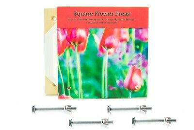 Peak Dale Deluxe Square Flower Press