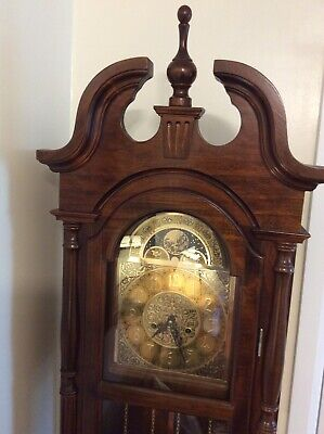 Imitation Long case Grandfather Clock, Wood,