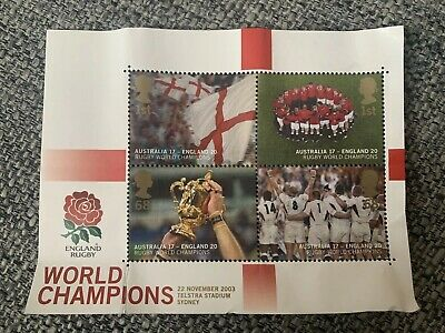 2003 Rugby World Cup Stamps - Memorabilia