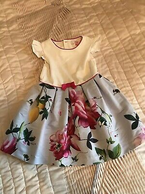 Ted baker Girls Party Dress Age 3-4