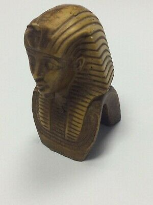 antique Antiquities Tutankhamun Egyptian wooden tut of the king Egypt treasures