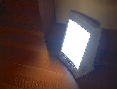 NatureBright SunTouch Plus UV Light Ion Therapy SAD Healing Wellness Lamp F4040