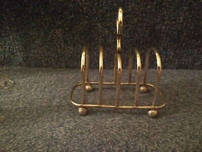 A Very Elegant Antique Silver Plated Toast Rack.